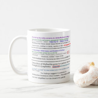 Wolbachia Genes in Humans & Mammals by RoseWrites Coffee Mug