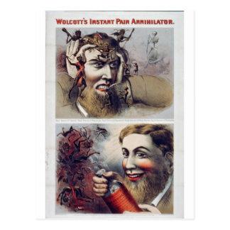 Wolcott's Instant Pain Annihilator Postcard