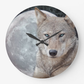 Wold Moon Wall Clock