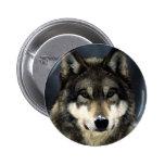 Wolf 6 Cm Round Badge