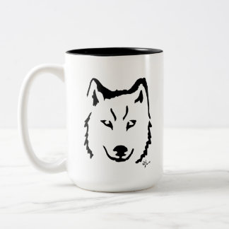 Wolf - Adolf Lorenzo Two-Tone Coffee Mug