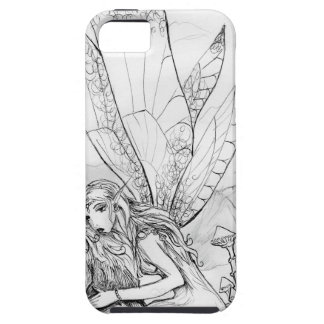 Wolf and Fairy Case For The iPhone 5