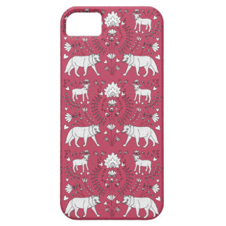 wolf and lamb pattern iPhone 5 covers