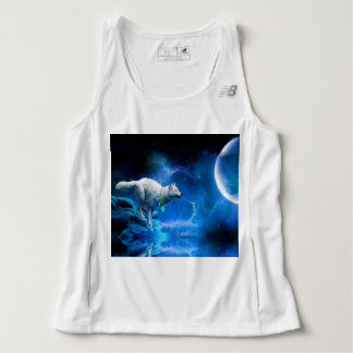 Wolf and Moon Singlet