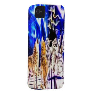 Wolf and Unicorn iPhone 4/4s Mate ID Case Case-Mate iPhone 4 Case