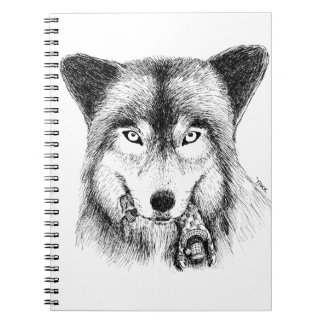 Wolf and Unlucky Little Guy Note Books