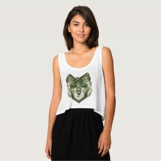 Wolf Animals Gift Singlet