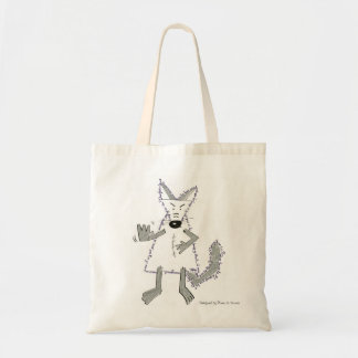Wolf are you there? budget tote bag