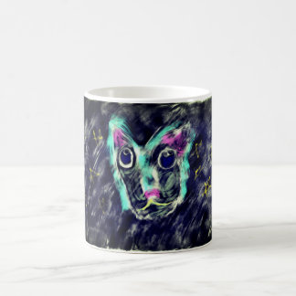 Wolf art 2 magic mug