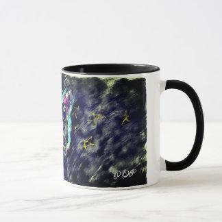 Wolf art 2 mug