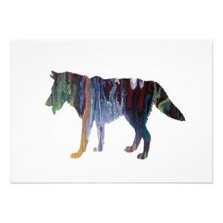 Wolf art photo print