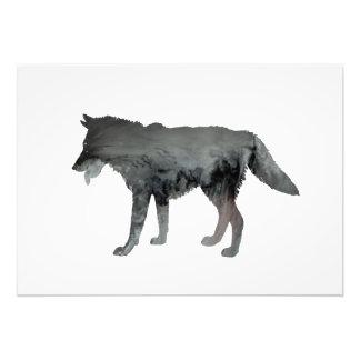 Wolf art photograph