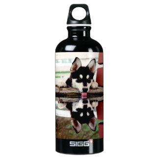 """Wolf At A Watering Hole"" Water Bottle SIGG Traveller 0.6L Water Bottle"