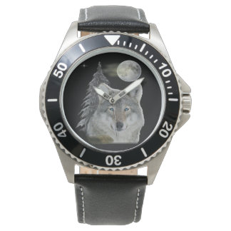 Wolf at Night products Watch