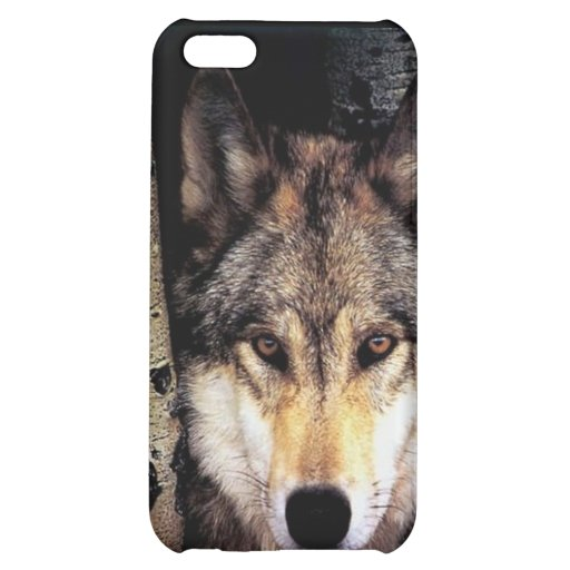 Wolf Behind Bars iPhone 5C Covers