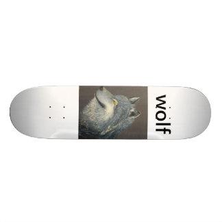 Wolf board. skateboard deck