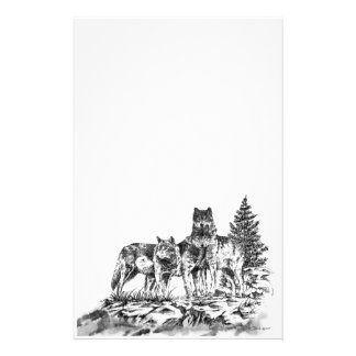 Wolf Brothers Stationery Design