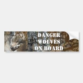 wolf bumper stickers