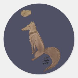 Wolf by Reddawolf Classic Round Sticker