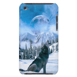 Wolf Call Barely There iPod Cases