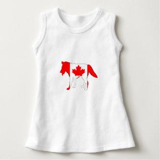Wolf Canada Dress