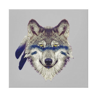 Wolf Canvas Prints