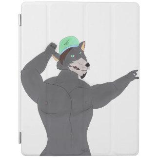WOLF CAPE IPAD PROTECTION/IPAD WOLF CAP iPad COVER
