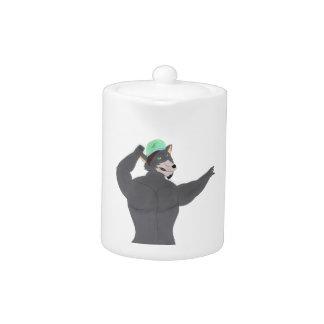 WOLF CAPE TEA-POT/TEA WOLF CAP