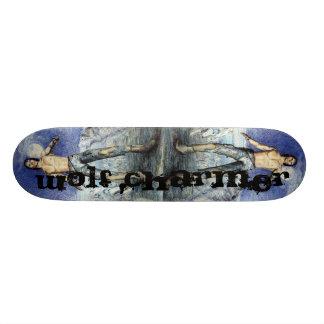 Wolf Charmer Fantasy Scateboard 21.6 Cm Skateboard Deck