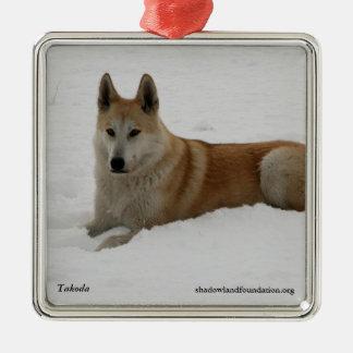 Wolf Christmas Tree Ornament
