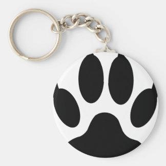 wolf claw key ring