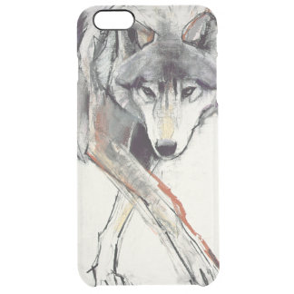 Wolf Clear iPhone 6 Plus Case