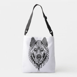 Wolf Cross Body Bag