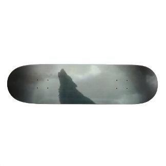 Wolf - Customized 21.6 Cm Old School Skateboard Deck