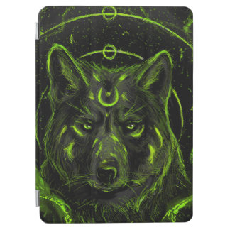 Wolf design graphic cool anime look iPad air cover
