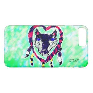 Wolf dream catcher iPhone 8 plus/7 plus case