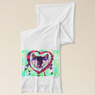 Wolf  dream catcher scarf