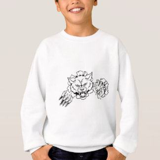 Wolf Esports Gamer Player Mascot Sweatshirt