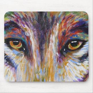 Wolf Eyes Mousepad