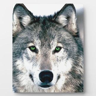 Wolf Eyes wild nature animal Print Photo Plaques