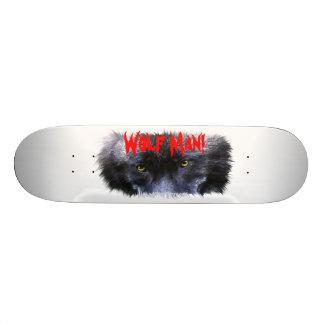 WOLF EYES Wildlife Fantasy Skateboard Deck