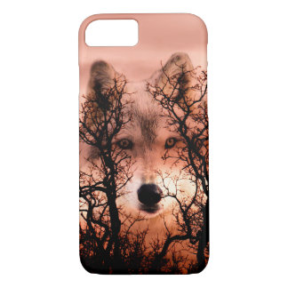 Wolf face iPhone 8/7 case
