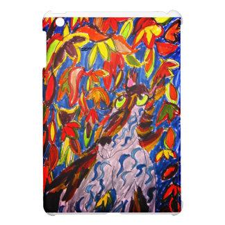 Wolf fall art case for the iPad mini