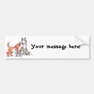 Wolf Family Bumper Sticker