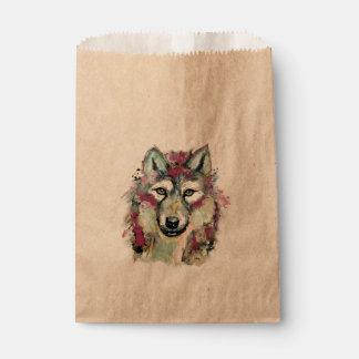 Wolf Favour Bag
