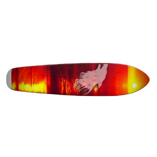 wolf, feel%20the%20sunset, wolf skate deck