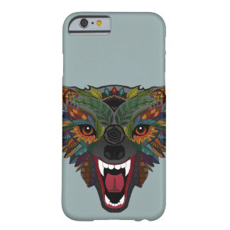 wolf fight flight silver barely there iPhone 6 case