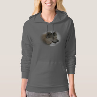 Wolf Fleece Pullover Hooded Sweatshirt