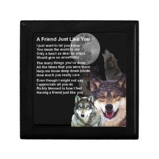 Wolf - Friend Poem Gift Box