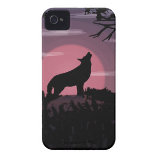 wolf full moon iPhone 4 cover